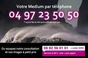 medium par téléphone